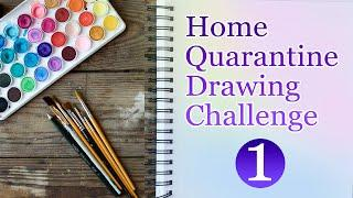 Top 10 drawing from Subscribers, Home Quarantine Drawing Challenge 01