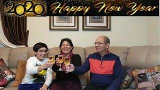 Happy New Year 2020 To All |  Happy New Year Vlog | New Year Celebrations! | Indian American Vlogger