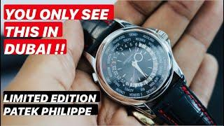 Lockdown over? Review of the $130,000 Patek Philippe World Timer 5130P-014, Dubai Limited Edition