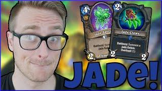 Quest JADE SHAMAN is so STRONG! (The BEST Shudderwock Deck?) | Descent of Dragons | Wild Hearthstone