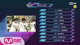 What are the TOP10 Songs in 3rd week of January? M COUNTDOWN 200116 EP.649