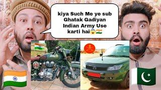 Top 10 Vehicles Used By Indian Army | That Will Blow Your mind | Shocking Pakistani Reaction |