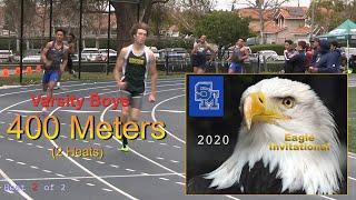 2020 TF - Eagle Invite - 400 (Varsity Boys, 2 Heats)
