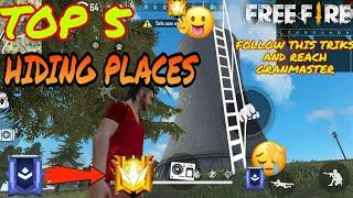 GARENA FREE FIRE BEST TOP 5 SECRET HIDING PLACE IN  BERMUDA MAP AFTER NEW UPDATE||STAR KING