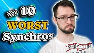 Top 10 WORST Synchro Monsters in Yu-Gi-Oh! Special Edition! (2020)