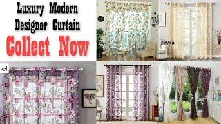 Top 10 Latest Luxury Modern Designer Curtain For Your Home