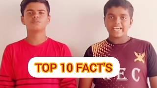 Top 10 FACT'S that the world won't believe #Part-1#