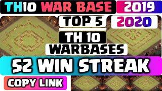 SAVE ME STARZ!! TH10 WAR BASE 2019+ 2020 with COPY LINK!! TOP 5! BEST TH10 Base anti 2 star & 3 star