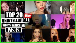 ASMR / INAUDIBLE / UNINTELLIGIBLE (Whispering, Mouth Sounds) / TOP 20 / 6/2020 / ASMR Charts