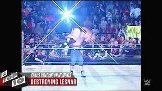 WWE top 10 moment John Cena angry