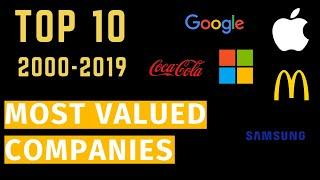 World's Most Valued Companies (2000-2019) l Top 10 Brands Value Ranking