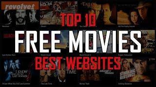 Top 10 Best FREE WEBSITES to Watch Movies Online!