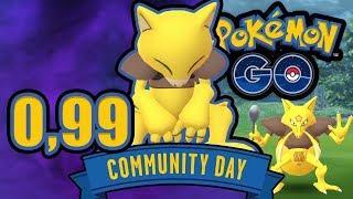 $0,99 Abra-Spezialforschung beim Community Day   Pokémon GO Deutsch #1318