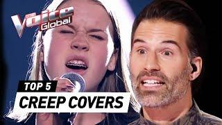 BEST CREEP covers (Radiohead) in The Voice Kids