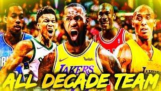 RANKING THE TOP 10 NBA PLAYERS OF THE DECADE (2010-2020)