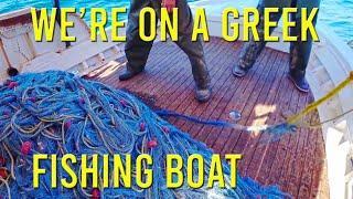 What do Greek fishing boats catch? - Sailing A B Sea (Ep.106)
