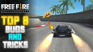 Top 8 New bugs and tricks || training group amazing bug/glitch || Free fire bugs Tamil