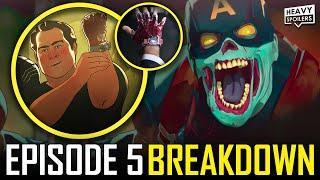 Marvel WHAT IF Episode 5 Breakdown & Ending Explained Spoiler Review   MCU Zombie Easter Eggs