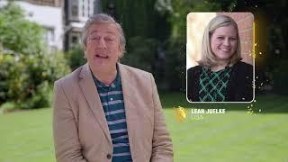 Stephen Fry announces US teacher Leah Juelke as a top 10 finalist for The Global Teacher Prize 2020
