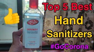 Top 5 Best Hand Sanitizer Of Popular Brands Like Lifebuoy & Dettol | How To Select Best Sanitizer