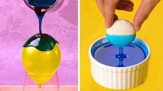 How to Make Pretty Balloon Bowls
