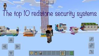 The TOP 10 SECURITY SYSTEMS IN MINECRAFT