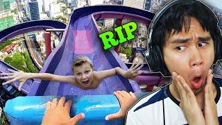 Top 10 Most Dangerous Water Slides Ever!