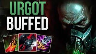 URGOT AFTER 10.8 BUFFS IS INSANE! | CHALLENGER URGOT TOP GAMEPLAY | Patch 10.8 S10