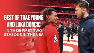 Luka Doncic And Trae Young's Best Highlights So Far