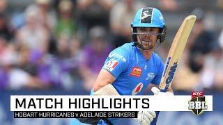 Head stars as Strikers survive Miller onslaught | KFC BBL|09