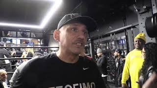 Teofimo Lopez Dad Jr Excited For Title Fight vs Richard Commey - EsNews Boxing