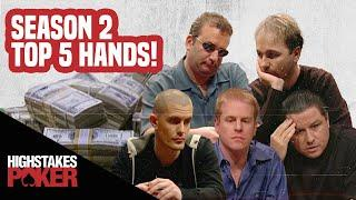 High Stakes Poker Best Poker Hands | Season 2