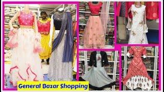 General Bazar Shopping | Wholesale Rate | Wedding Collections | Tops, Crop Tops, Kurtis #HydLife