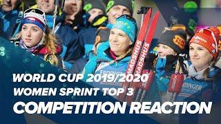 NMNM20 Women Sprint Top 3 Reactions