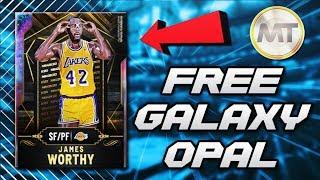 *FREE* GALAXY OPAL CARD COMING TOMORROW IN NBA 2K20 MyTEAM!! - Galaxy Opal James Worthy Stats