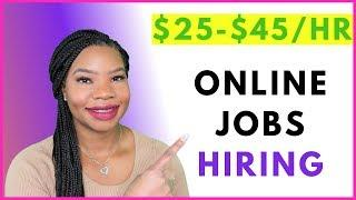 3 High-Paying Work-From-Home Jobs Now Hiring! | Online, Remote Work-At-Home Jobs December 2019