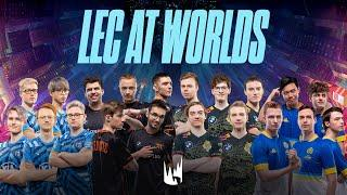 LEC at Worlds 2020 - Play-ins and Groups  (Gameplay Montage)