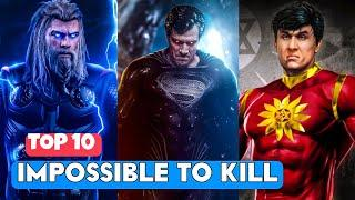 TOP 10 Hard To Kill Superheroes In MCU, DCEU, X-Men & Indian Superheroes Movies   Impossible To Kill