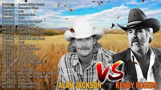 Kenny Rogers, Alan Jackson: Greatest Hits - Top Country Songs By Male Artists - Country Music 2020