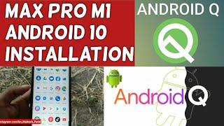 Max Pro M1 Android 10 installation | Problem | Solutions | Installation