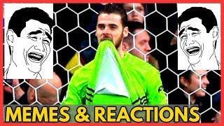 De Gea Mistake vs Watford (MEMES & Reactions)
