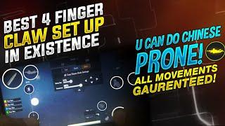 BEST 4 FINGER CLAW SETTING IN EXISTENCE (PERFORM ALL MOVEMENTS) | PUBG MOBILE