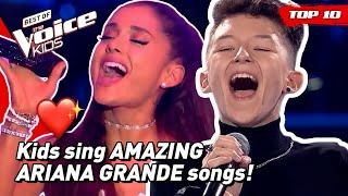 Would ARIANA GRANDE turn for these young singers in The Voice Kids?