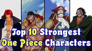 One piece : Top 10 strongest end of series characters, ranked