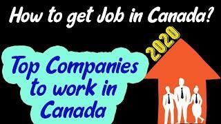 How to get job in Canada? Best jobs in Canada 2020
