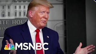 Trump Blasts States And Fights With Media As Coronavirus Deaths Soar | The 11th Hour | MSNBC