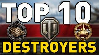 World of Tanks - TOP 10: TANK DESTROYERS