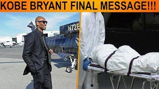 Kobe Bryant Final Message before he and Daughter Gianna Died in Helicopter Crash #RIPkobebryant