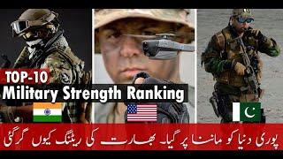 Top 10 Most Powerful Military Strength Ranking in The World