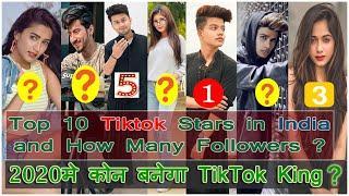 Top 10 Tik Tok Stars in India 2019 | Tik Tok Stars Name & Followers | Mr Faisu, jannat zubair, Riyaz